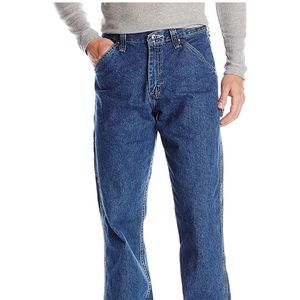 NWT Men's Loose Fit Carpenter Straight Leg Jeans